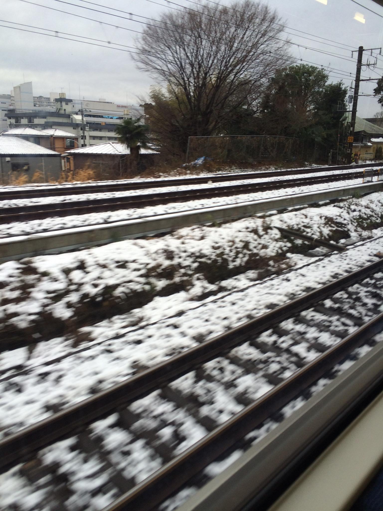 雪の通勤おつかれさまです〜私は通勤時間がいつもの4倍でした