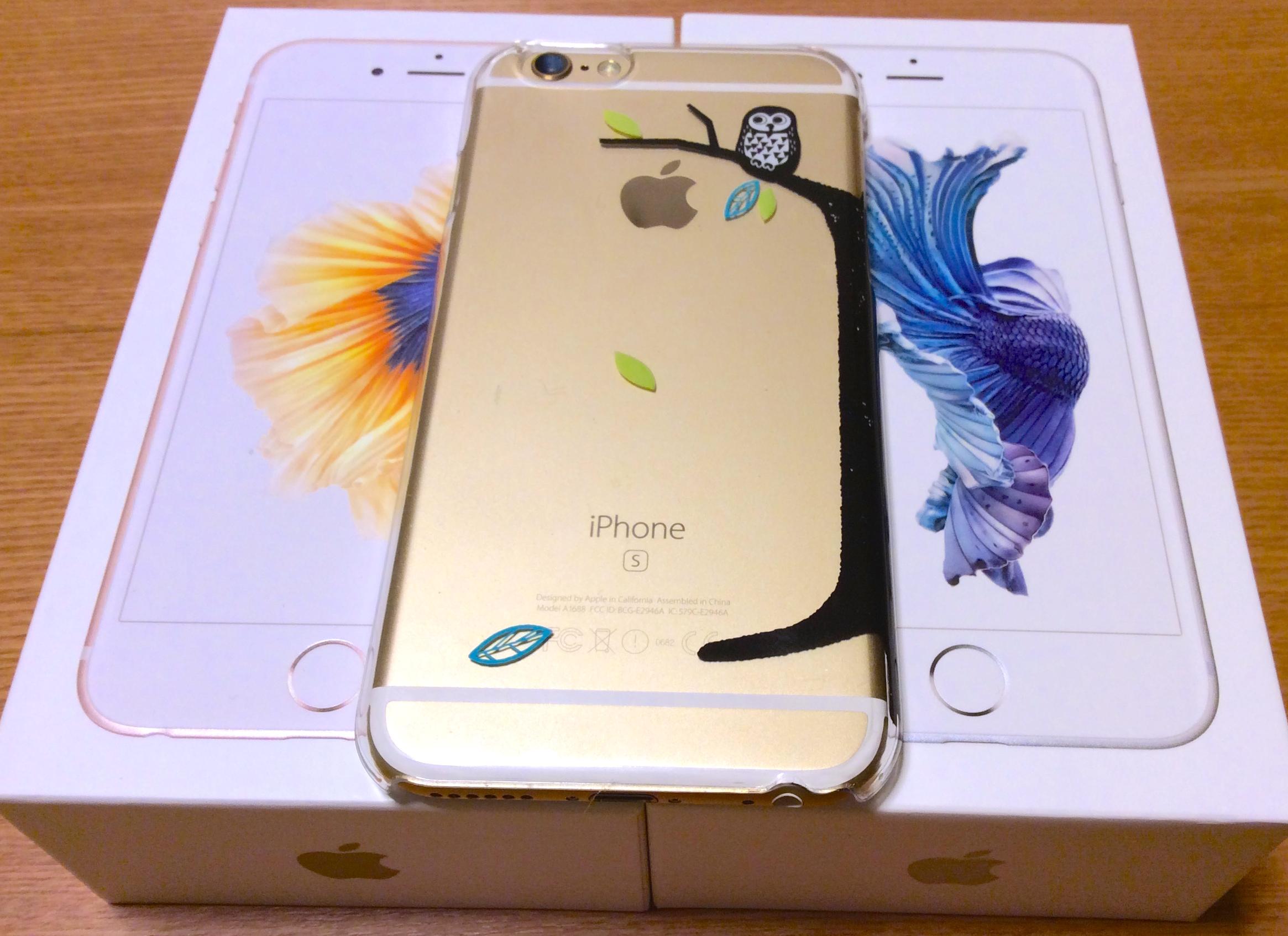 iPhone6sにのりかえ&翌日appleから新製品発表&LINEが消えて卒業