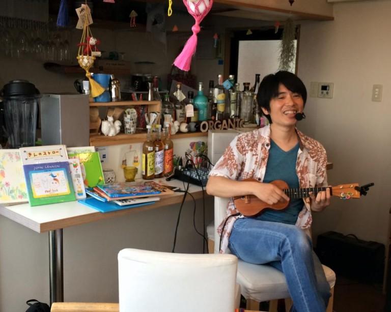 午後の絵本と歌のカフェ with 西村直人さん @mare Live(3月13日)