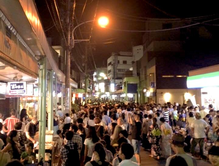 7月15-16日の逗子駅前は夏祭り〜逗子に移住して8年になりました