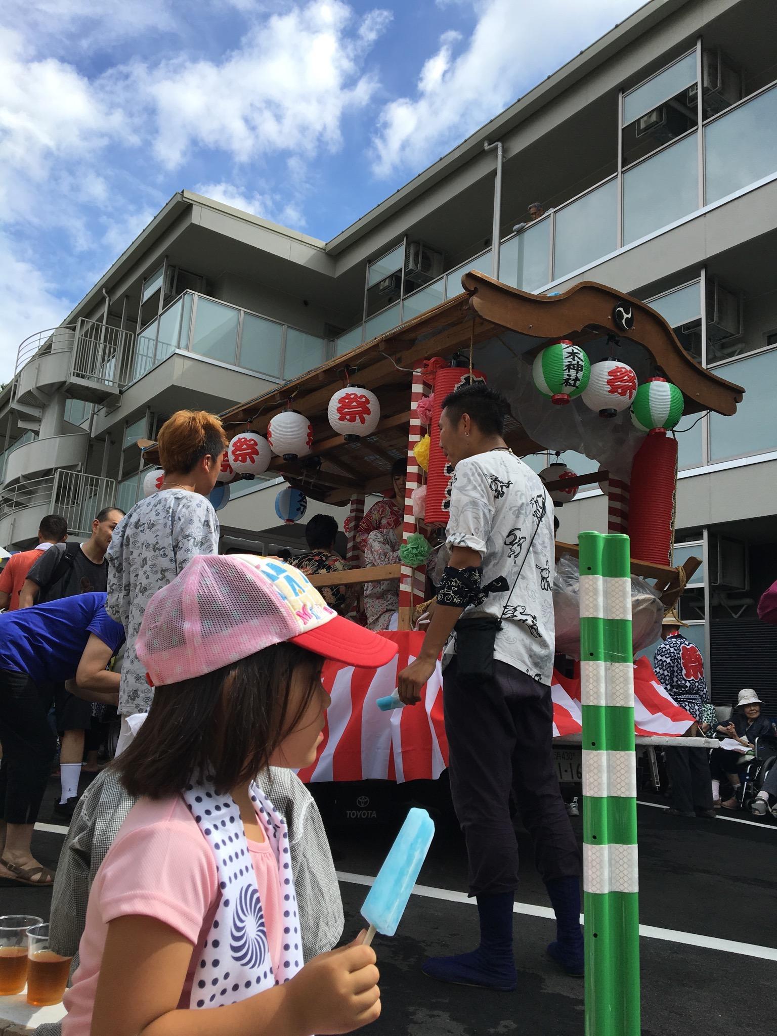久木神社の夏祭り〜「駕籠に乗る人、担ぐ人、そのまた草鞋を作る人」