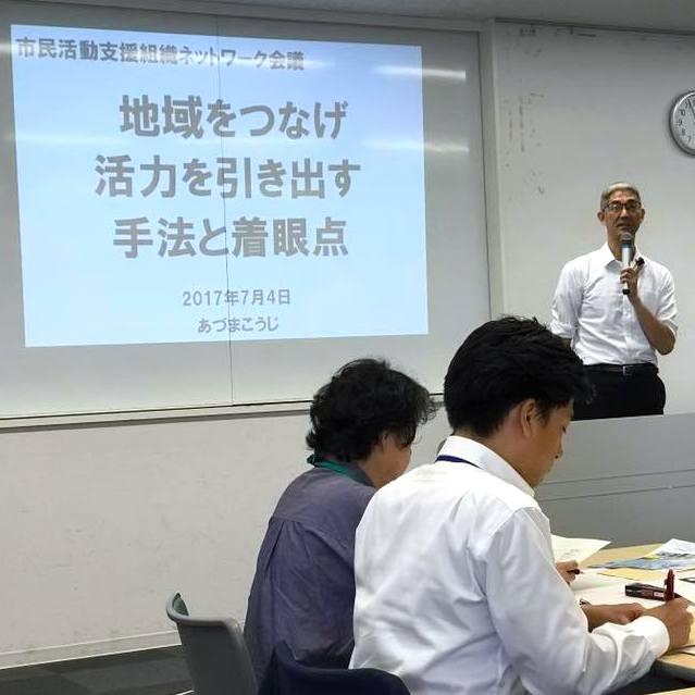 千葉県市民活動支援組織ネットワーク会議でチバリョーなワークショップ