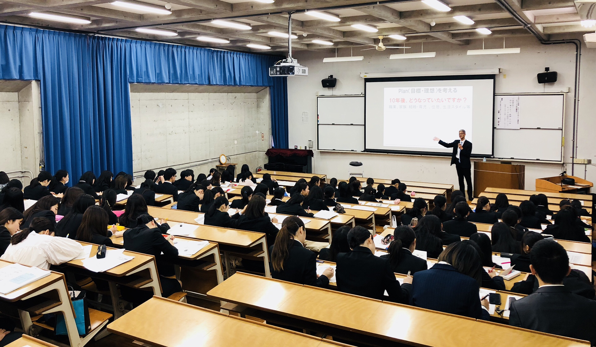 金城大学短期大学部で二週連続の出番〜石川県の講師派遣事業で