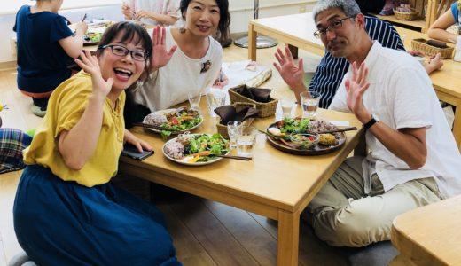 藤沢市役所でお勤めの後、こまちカフェでランチタイム