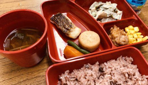 逗子市PTA協議会で市長・教育長と懇談会。中学校給食試食会。