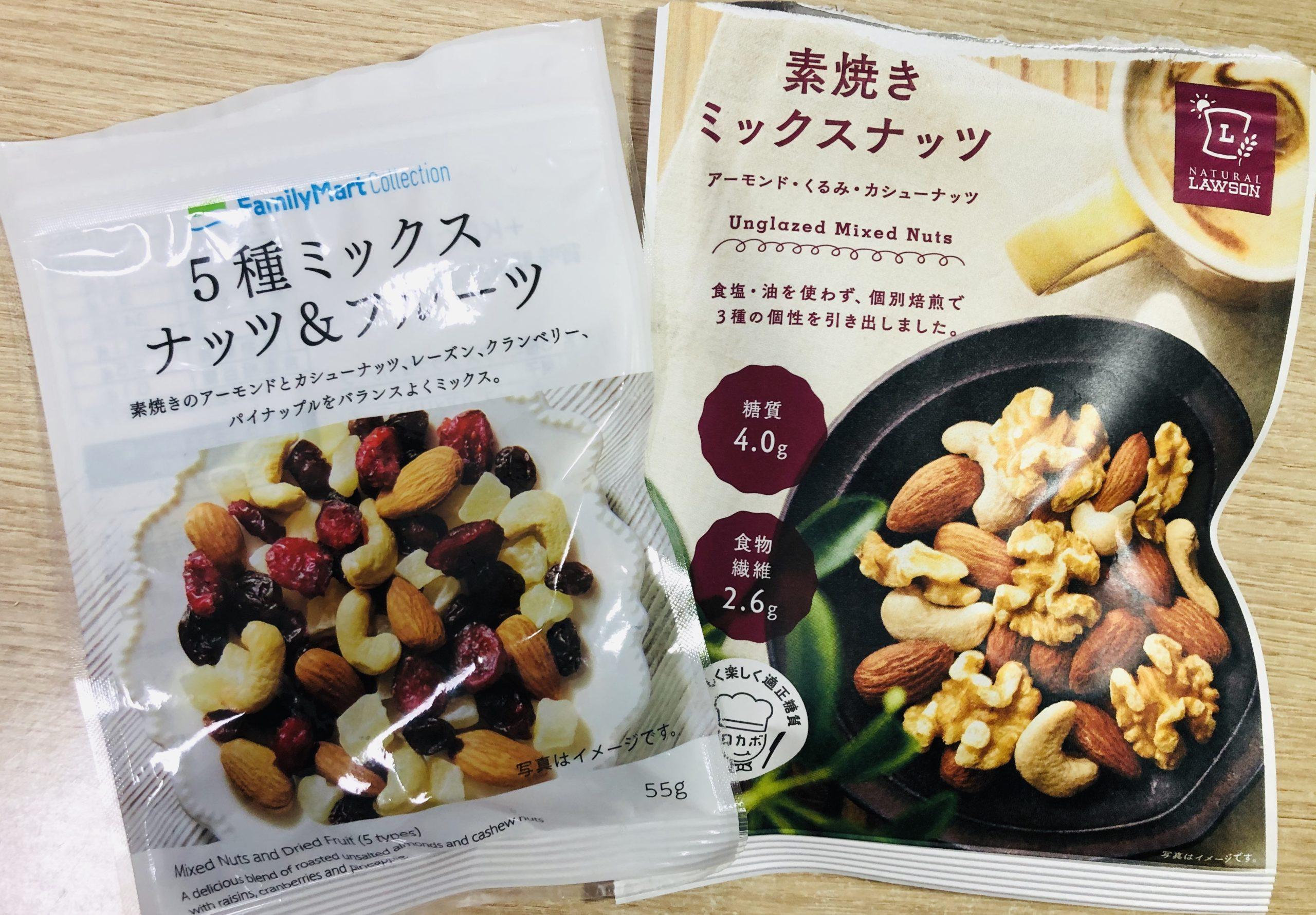 空腹生活の主食はナッツ