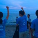 逗子の地元人は週末をビーチクリーンでしめくくるのがツウなのであります