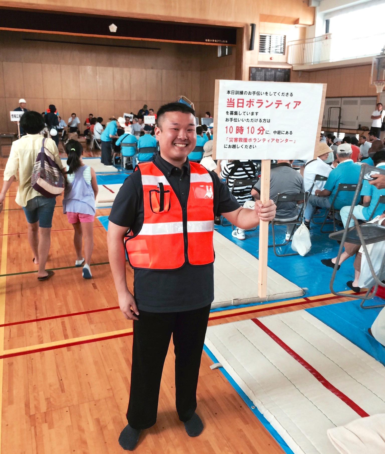 夏の終わりのハーモニー〜沼間小学校地区避難所運営訓練は賑わっていました