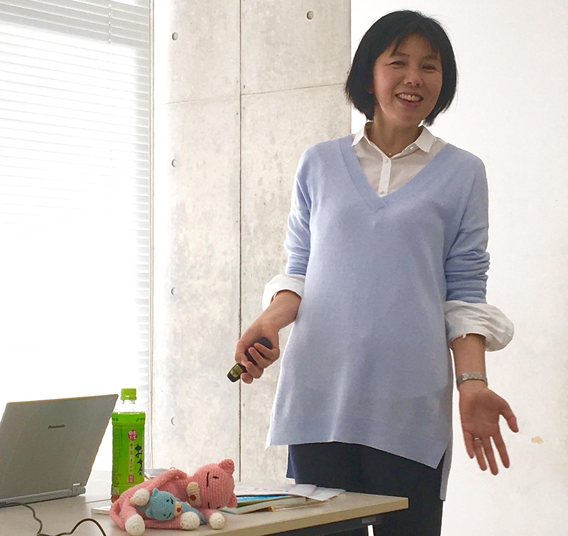 棒田さんの子育て・孫育て講座はさすがプロの語り部でした
