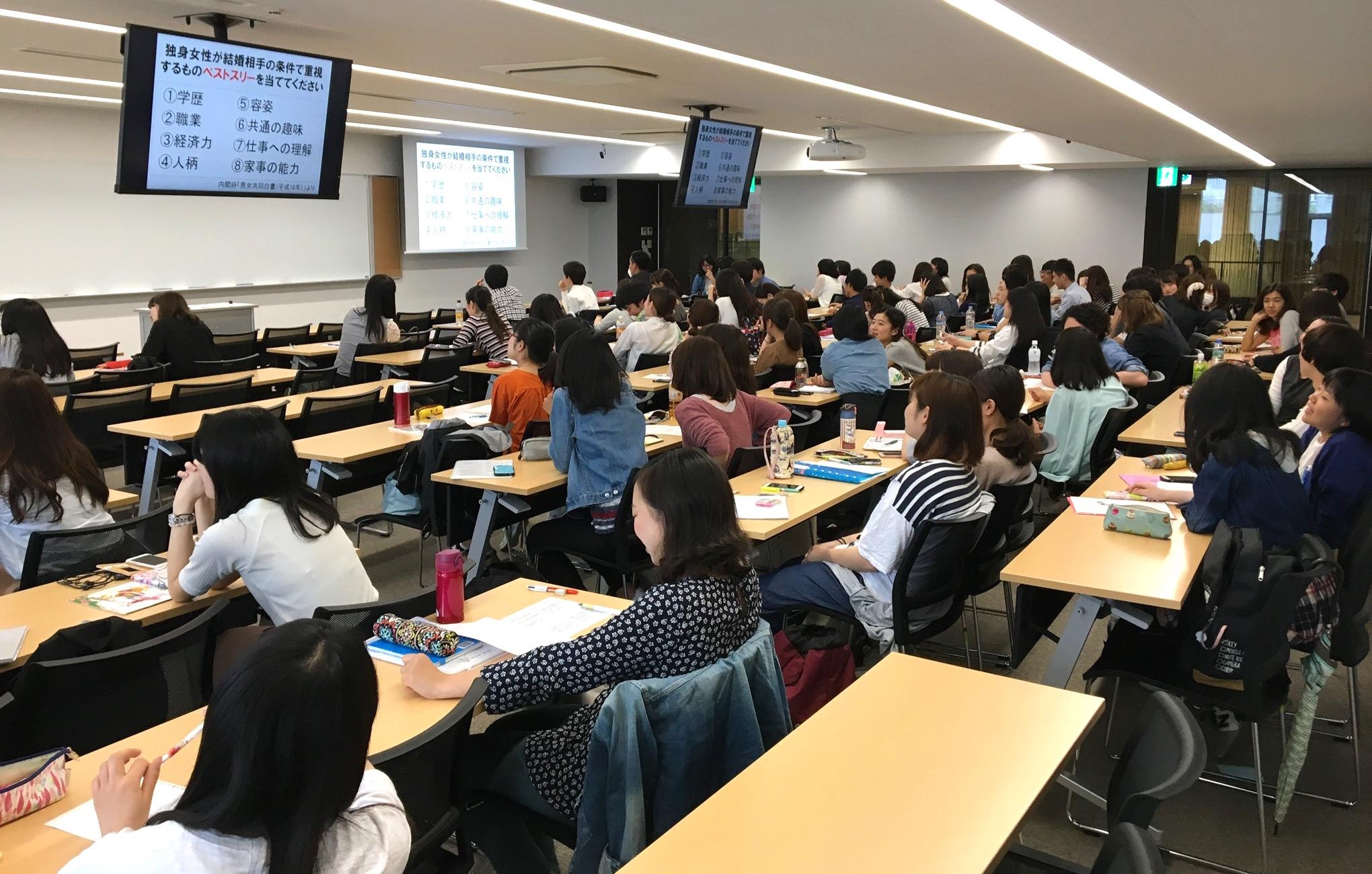 おむつの話題でオツムを変えるファザーリング授業〜上智大学「ジェンダー社会学」でゲスト講義