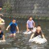 今シーズンラストの川遊び企画〜いかだで海にいくのはいかが?