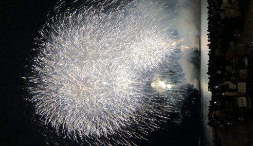 逗子海岸花火大会をスタッフになって観る。天気に恵まれたのが何よりの成功要因。