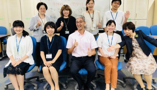 連合のインターンシップ実習生と対話セッションをしました。