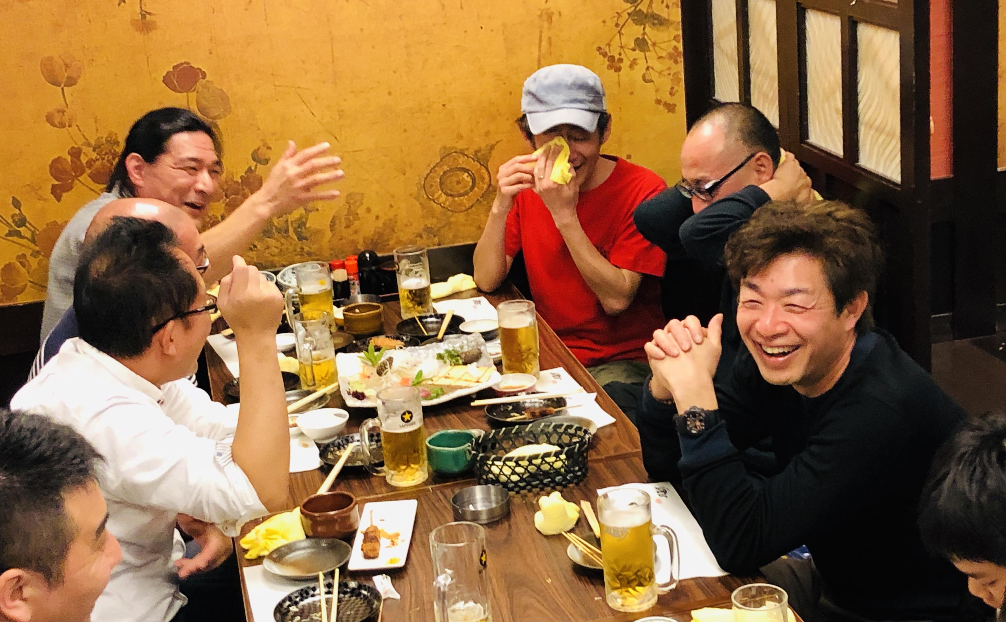 ファザーリング・ジャパン東海支部の飲み会に混ぜてもらいました。