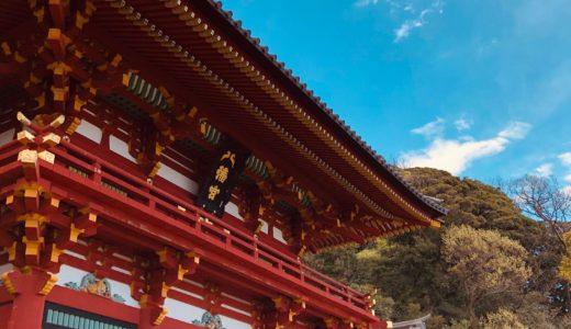 鎌倉の八幡さまで「大吉」を初めてもらいました。
