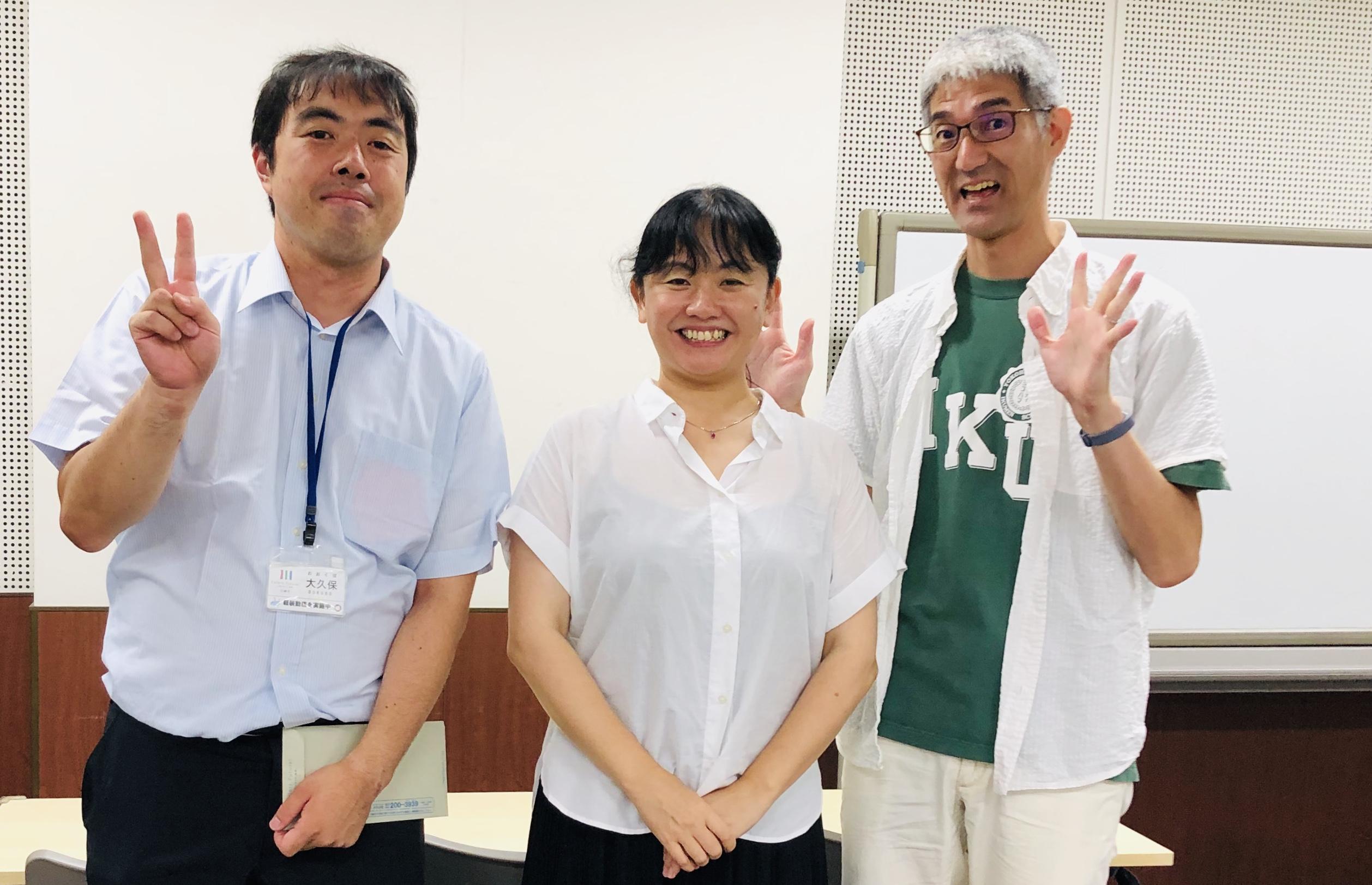 中原市民館イクメンプロデュース講座でチーム講師を組みました。