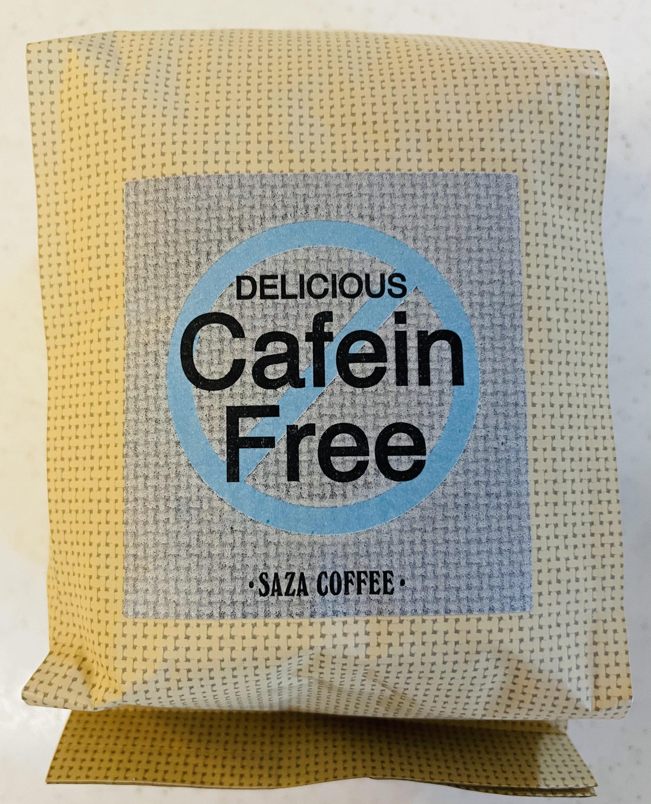 カフェインレス生活も始めています。